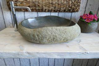 Lavello da appoggio in pietra