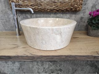 lavabo da appoggio marmo